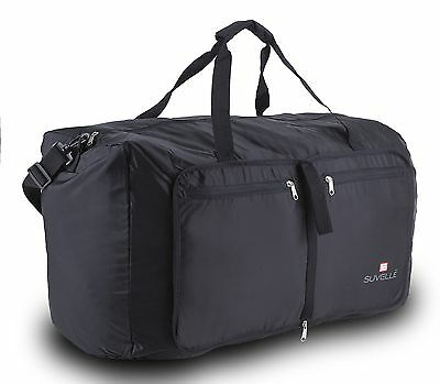 "Suvelle Travel Duffel Bag 29"" Foldable Lightweight Duffle Bag For Luggage Gym..."