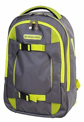 Swiss Cargo Trulite 17 Inch Backpack Gray Green United States Carry-On