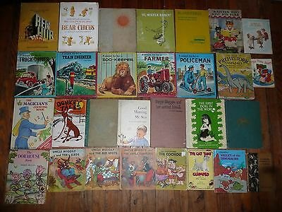 Lot of 29 VINTAGE CHILDREN PICTURE BOOKS 1931-1975 ELF Dormouse I WANT TO BE +