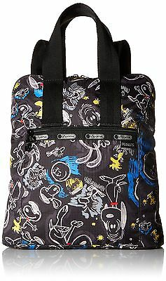 LeSportsac 8240 G057 Everyday Backpack Chalkboard Snoopy One Size
