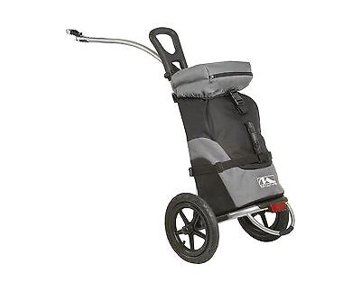 M-Wave Shop & Ride Luggage Trailer and Cart Black/Grey