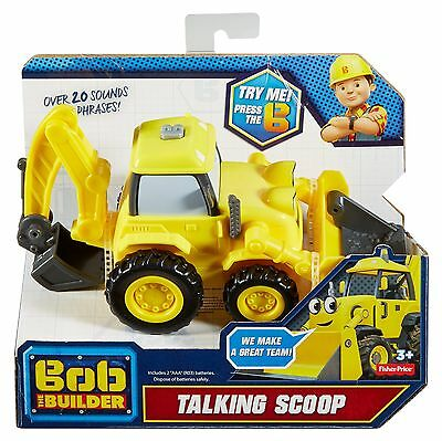 Fisher-Price Bob the Builder Talking Scoop Vehicle