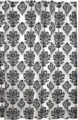 Kiera Grace Printed Peva Shower Curtain 70 by 72-Inch Damask