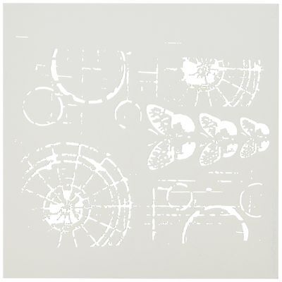 Crafters Workshop Template 6 by 6-Inch Specimens