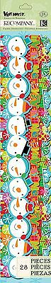 K and Company Very Merry Icon Adhesive Borders