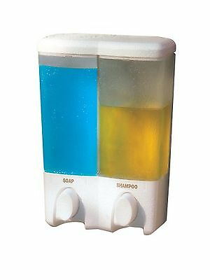 Better Living Products Clear Choice Dispenser II Two Chamber Shower Dispenser...