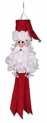 Evergreen Enterprises 40008 Santa Claus Windsock