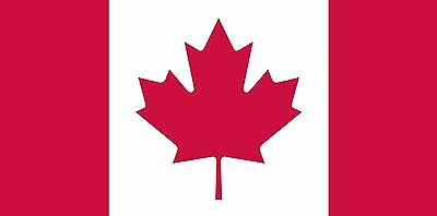 Flags Unlimited Canadian Flag 36-Inchx72-Inch
