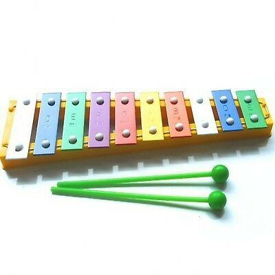 Colourful Childrens Toy Glockenspiel + Free Beaters