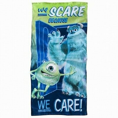 Monsters Inc Scare 28X58 Beach Towel