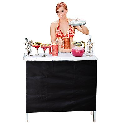 GoPong Portable High Top Party Bar Includes 3 Front Skirts and Carrying Case