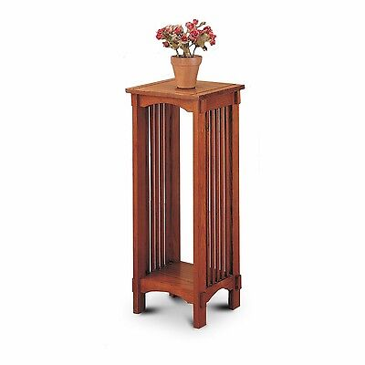Coaster Home Furnishings Kittitas Plant Stand in Solid Wood Oak