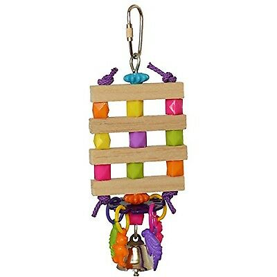 SuperBirdCreations Balsa Bling Toy for Birds