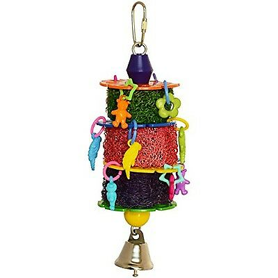 SuperBirdCreations Polly Parfait Toy for Birds
