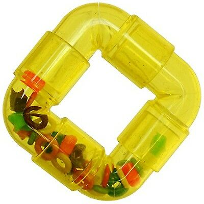 SuperBirdCreations Rattler Ring Toy for Birds