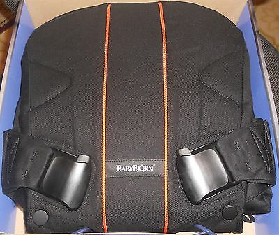 Babybjorn Baby Front And Back Carrier One Black Orange - 091086Ca