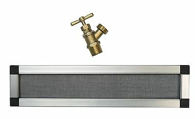 RTS Home Accents Replacement Rain Barrel Screen and Brass Spigot Kit