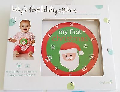 Baby's first holiday stickers - 14 stickers to celebrate baby's first holidays