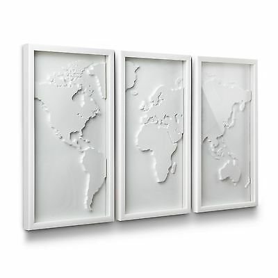 Umbra Mapster Wall Decor Set of 3