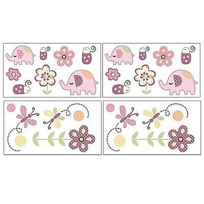 Cocalo 7043884S Removable Wall Appliques - Zurie