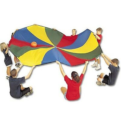 US Games 1040005 Parachute with 8 Handles 6-Feet