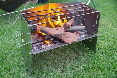 New Uniflame Firepit Camping Fireplace Bbq Made In Japan 682906