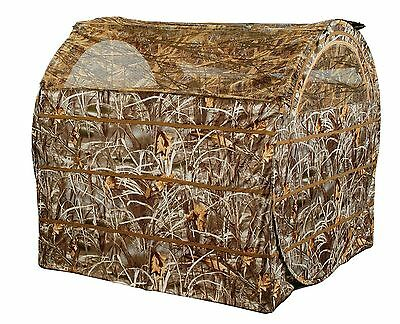 Ameristep Duck Commander Bale Out Hunting Blind Realtree Max 4