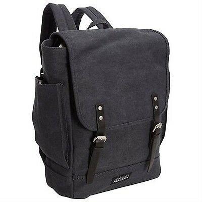 Kenneth Cole Single Gusset Flapover 14.1-Inch Computer Rucksack Backpack Navy...