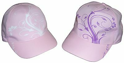 N'Ice Caps Girls Floral Scroll Print Magical Color Changing Cap (Pink / Color...