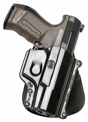 Fobus Standard Holster Left Hand Belt WA99LHBH Walther Model P99