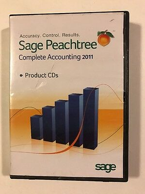 Sage Peachtree Complete Accounting 2011 Products CD
