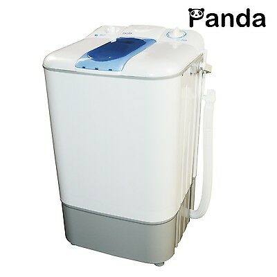 New Version Panda Counter Top Small Portable Compact Washing Machine (10 lbs ...