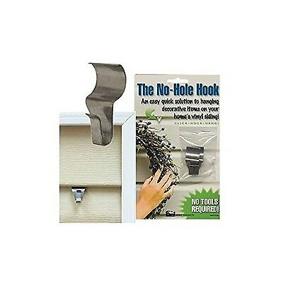 CWI Gifts Low Profile No Hole Hook 1.5-Inch 2-Pack