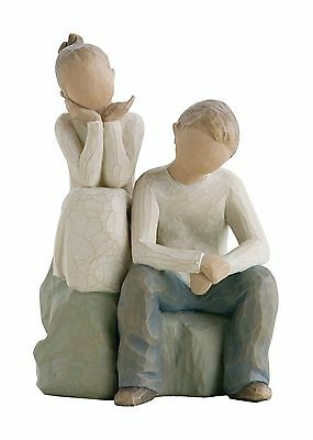 Demdaco DD26187 Willow Tree Brother and Sister Figurine