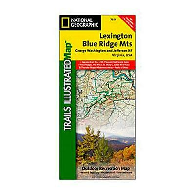 National Geographic 603140 789 Lexington Blue Ridge Mountains Virginia