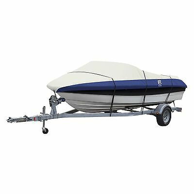 Classic Accessories Model C Lunex RS-2 Boat Cover Navy/Linen