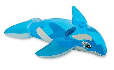 """Intex Lil' Whale Ride-On 60"""" X 45"""" for Ages 3+"""