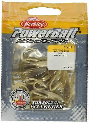 Berkley PowerBait FW Power Nymph Fishing Bait Toad