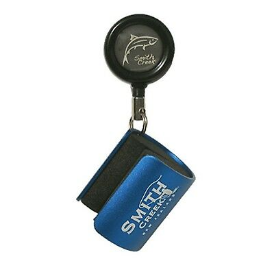 Smith Creek Rod Clip Wearable Fishing Rod Holder Blue