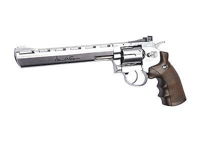 ASG 50034 Dan Wesson CO2 Powered Airsoft Revolver Silver 4""