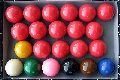 Iszy Billiard Snooker Ball Set 2 1/16-Inch Pack of 22