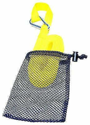 Kwik Tek Pwc Tow Strap with Sst Hook and Mesh Bag