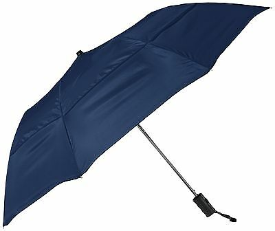 Stromberg Brand The Vented Grand Practicality Folding Umbrella Navy Blue One ...