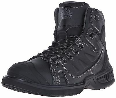 Harley-Davidson Men's Foxfield Motorcycle Boot Black 12 M US