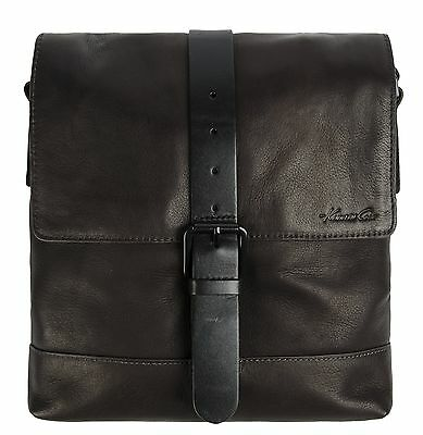 Kenneth Cole Single Gusset Flapover Daybag Brown International Carry-On