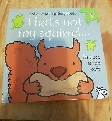 Brand new Usborne That's not my Squirrel book