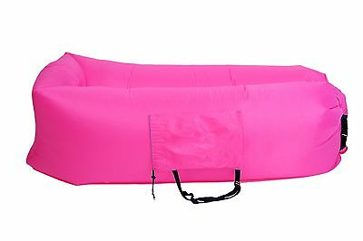 Sleeping Cloud Outdoor Inflatable Lounger Nylon Fabric Air Couch Sofa - Infla...