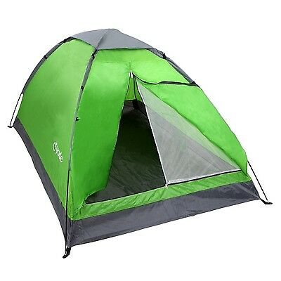 Yodo Lightweight 2 Person Camping Backpacking Tent With Carry Bag Green