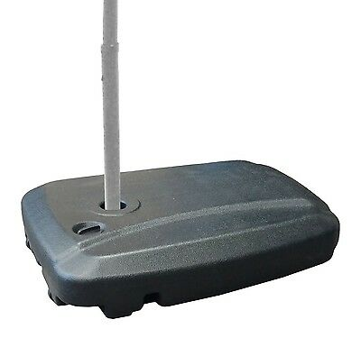 EasyGoProducts Universal Offset Umbrella Base Weight Capacity - Plastic Weigh...