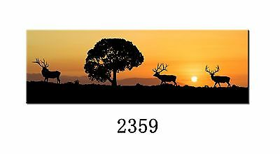 Jetsan 2359-20 Small Gift size: 24x8inches Reindeers fine art printing/painti...